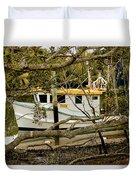 Trawler Duvet Cover