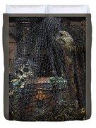 Treasure Chest In Net Duvet Cover