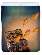 Treasure Chest Duvet Cover