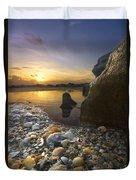 Treasure Cove Duvet Cover by Debra and Dave Vanderlaan