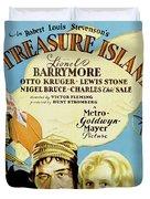 Treasure Island 1934 Duvet Cover
