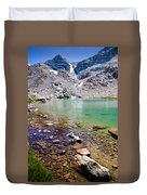 Treasure Lake 3 Rocky Shoreline Duvet Cover