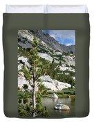 Treasure Lake Pine Duvet Cover