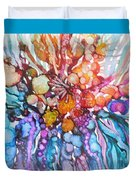 Treasures From Rainbow Reef Duvet Cover