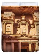 Treasury Of Petra In Color Duvet Cover