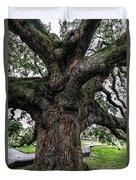 Treaty Oak 12 14 2015 024 Duvet Cover