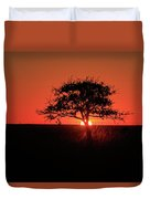 Tree A Glow Duvet Cover