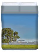 Tree Above The Clouds Duvet Cover