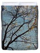 Tree Against The Sky Duvet Cover