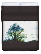 Tree Along The Way 2 Duvet Cover
