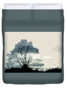 Tree Along The Way Duvet Cover
