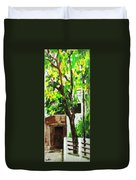 Tree And Shade Duvet Cover