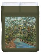 Tree Arched Road Duvet Cover