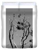 Tree Art Black And White 031015 Duvet Cover
