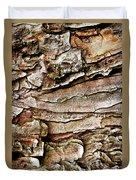 Tree Bark Abstract Duvet Cover