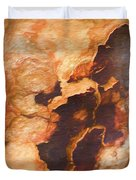 Tree Bark Collection # 49 Duvet Cover