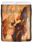 Tree Bark Collection # 50 Duvet Cover