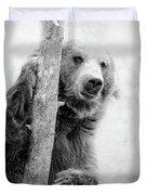 Tree Bear Duvet Cover
