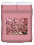 Tree Blossoms Pink Blossoms Art Prints Giclee Flower Landscape Artwork Duvet Cover