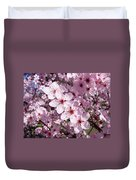 Tree Blossoms Pink Spring Flowering Trees Baslee Troutman Duvet Cover