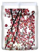 Tree Blossoms Duvet Cover