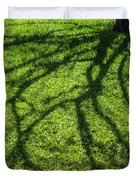 Tree Branch Shadow Duvet Cover
