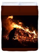 Tree Burning Duvet Cover
