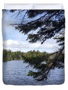 Tree By The Water Duvet Cover