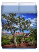 Tree Captures Sedona Duvet Cover