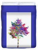 Tree-colorful Duvet Cover