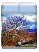 Tree Fan Duvet Cover