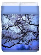 Tree Fantasy In Blue Duvet Cover