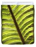 Tree Fern Frond Duvet Cover