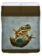 Tree Frog Duvet Cover