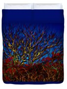 Tree Glow In The Dark Duvet Cover
