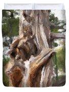 Tree Gnarl Duvet Cover