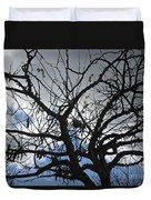 Tree In Benalmadena Duvet Cover