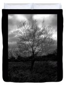Tree In Field Duvet Cover