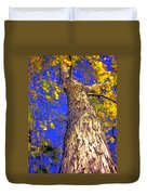 Tree In Motion Duvet Cover