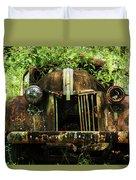 Tree In Truck Duvet Cover