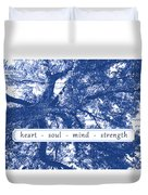Tree In Your Heart Duvet Cover