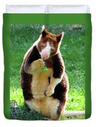 Tree Kangaroo Duvet Cover