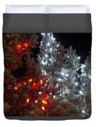 Tree Lights Duvet Cover