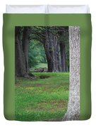 Tree Line Duvet Cover