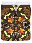 Tree Mandala 1 - Watercolor Duvet Cover