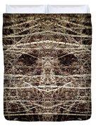 Tree Mask Duvet Cover