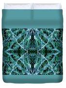 Tree Moss Mandala Duvet Cover
