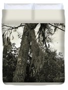 Tree Moss Duvet Cover