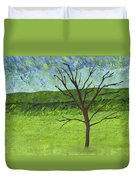 Tree No Leaves Duvet Cover