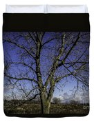 Tree Of Blue Duvet Cover